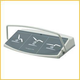 Snadné a rychlé ovládání - bezdrátový nožní ovladač